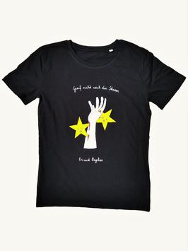 Psycho Sterne T-Shirt Schwarz