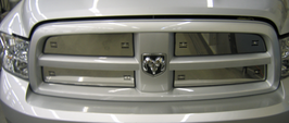 2010 2011 2012 Dodge Ram (with Bar Grill)2500 3500 Air Hawk Winter Front