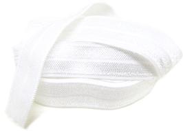 Ruban élastique blanc - 15 mm ( au mètre )