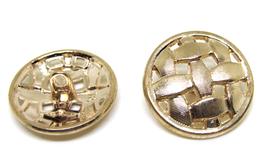 Bouton en métal doré  - 22 mm -  B028T