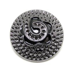 Gros bouton en métal - 25 mm - B017T