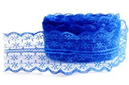 Dentelle bleu roi séparable de 45 mm  - D13