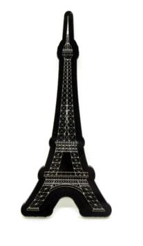 Cabochon tour Eiffel en résine -  57 x 25 mm - CCW82