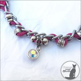 Halsband Kette G35 pink