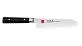Kasumi Santoku Damasco, coltello Chef misura: 18 cm