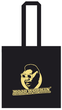 BOLSA TOTE Negra - Tamaño LP - 100% Algodóm