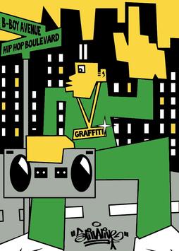 "Hip Hop Boulevard by ""Still Alive"""