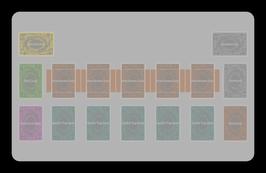 Kartenzonen für YuGiOh! - KLASSISCH Farbig