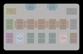 Kartenzonen für YuGiOh! - LINK FARBIG - Halbe Extra-Zonen