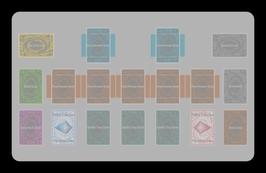 Kartenzonen für YuGiOh! - LINK FARBIG - Volle Extra-Zonen