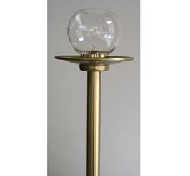 Flambeaux-Stab (Farbe gold-eloxiert)