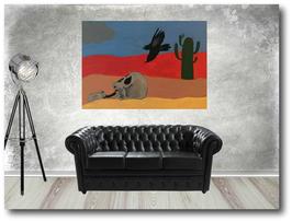 Acrylgemälde groß (Maße 70 x 50 cm)