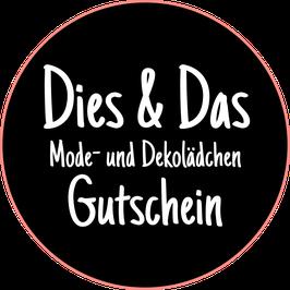 Onlineshop Gutschein 15 Euro