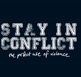 DR024 - CD - Stay In Conflict - The Perfect Use Of Violence