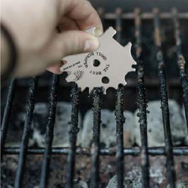 GRILL | Reinigung | Klinge aus Edelstahl | BBQ Scharber | NEUHEIT | vielseitig