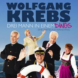 Wolfgang Krebs - Drei Mann in einem Dings CD