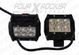 COPPIA FARETTI RETTANGOLARI A LED 36W - FXR-99869
