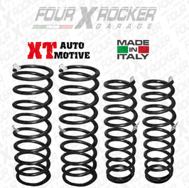 "KIT N°4 MOLLE +10/12CM  XT AUTOMOTIVE ""SUPER TRIAL"" PER NISSAN PATROL GR Y61 PASSO CORTO"