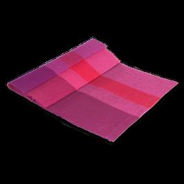 """Tischläufer """"pink-rot"""" aus 100% Leinen"""