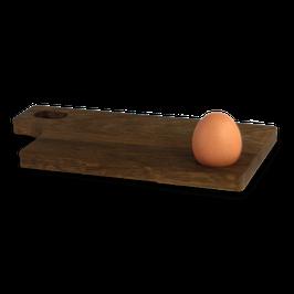 Frühstücksbrett mit Eierbecher