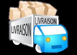 Livraison (Bois d'Arcy 78390 et Fontenay-le-Fleury 78330)