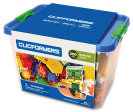 CLICFORMERS Basic Set 200 Teile // 801007