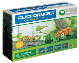 CLICFORMERS Mini Insect Set 30 Teile // 804005