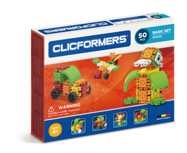 CLICFORMERS Basic Set 50 Teile // 801001