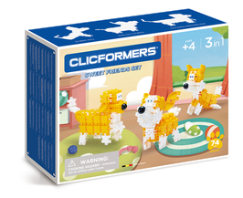 CLICFORMERS Sweet Friends Set 74 Teile // 806001