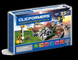 CLICFORMERS Creativ Master Set 230 Teile // 808001
