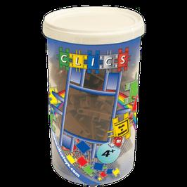 CLICS Köcher mit braunen Clics // CK021