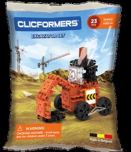 CLICFORMERS Excavator Set 23 Teile // 809001