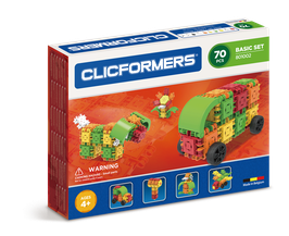 CLICFORMERS Basic Set 70 Teile // 801002