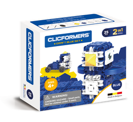 CLICFORMERS Craft Set Blue 25 Teile // 807004