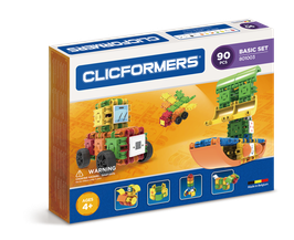 CLICFORMERS Basic Set 90 Teile // 801003