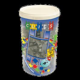 CLICS Köcher mit metallic grauen Clics // CK001