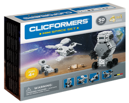 CLICFORMERS Mini Space Set 30 Teile // 804003
