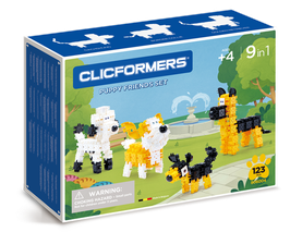 CLICFORMERS Puppy Friends Set 74 Teile // 806004