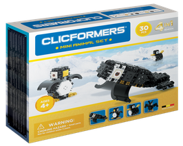 CLICFORMERS Mini Animal Set 30 Teile // 804004