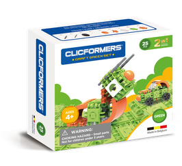 CLICFORMERS Craft Set Green 25 Teile // 807003