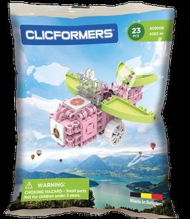 CLICFORMERS Blossom Airplane Set 23 Teile // 809006