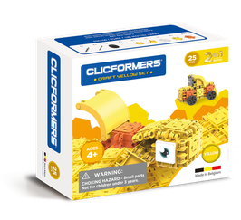 CLICFORMERS Craft Set Yellow 25 Teile // 807002