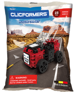 CLICFORMERS Muscle Car Set 23 Teile // 809004