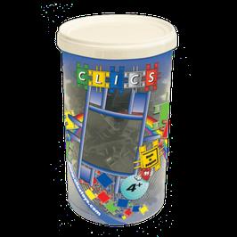 CLICS Köcher mit metallic schwarzen Clics // CK002
