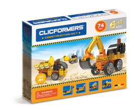 CLICFORMERS Construction Set 74 Teile // 802001