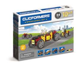 CLICFORMERS Speed Wheel Set 72 Teile // 803001