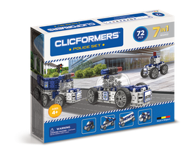 CLICFORMERS Police Set 72 Teile // 802002