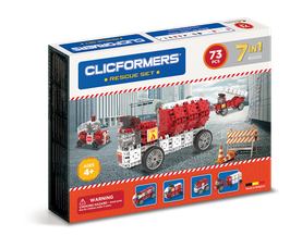 CLICFORMERS Rescue Set 73 Teile // 802003