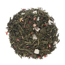 Organic Strawberry Green Loose Leaf Tea