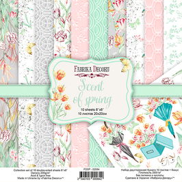 "Fabrika Decoru 8x8 Paper Set ""Scent of Spring"""